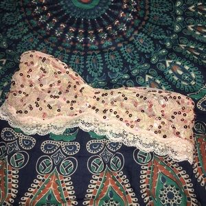 Free People intimately bandeau sz small